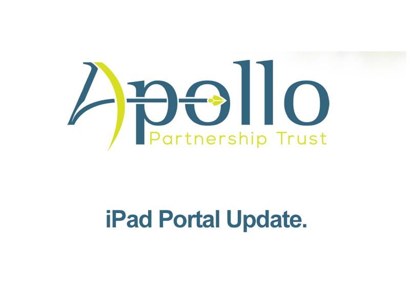 iPad portal update